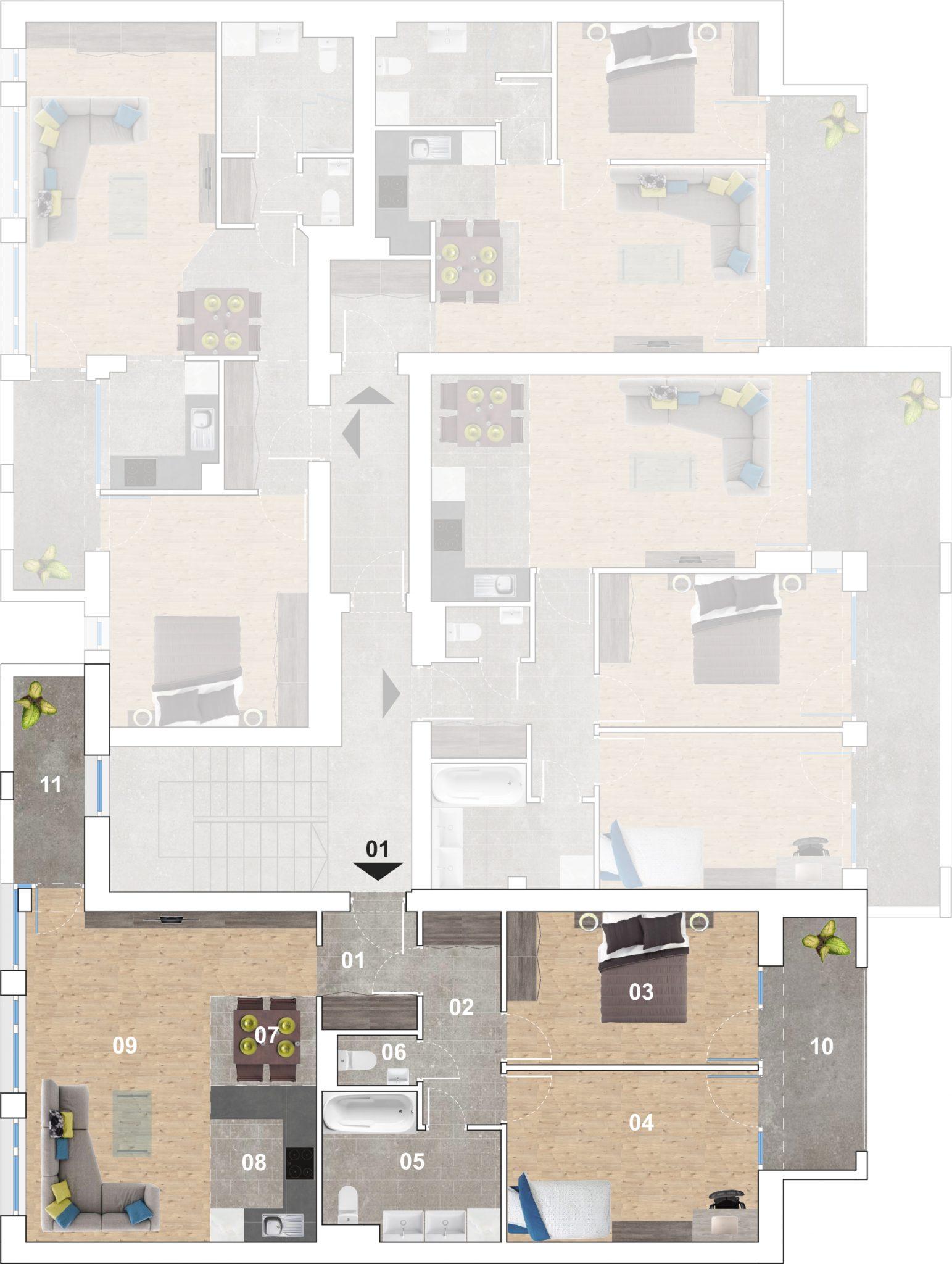 01 lakás alaprajz